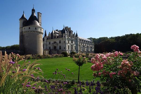 Château de la Loire - Sur terre et dans les airs